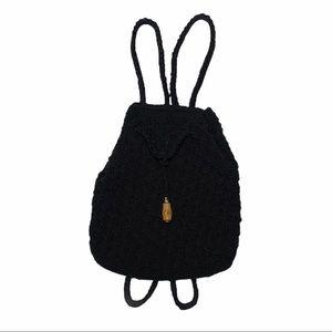Liz Claiborne Black Back Pack Purse